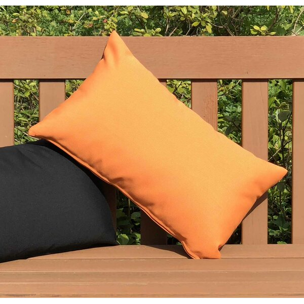 Otsego Outdoor Sunbrella Lumbar Pillow by Latitude Run