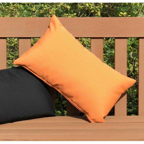 Otsego Outdoor Sunbrella Lumbar Pillow by Latitude Run