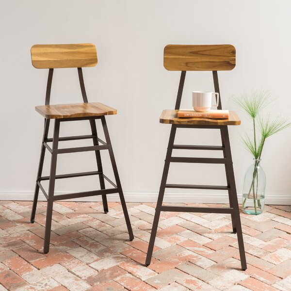 Boyette Bar Stool (Set of 2) by Union Rustic