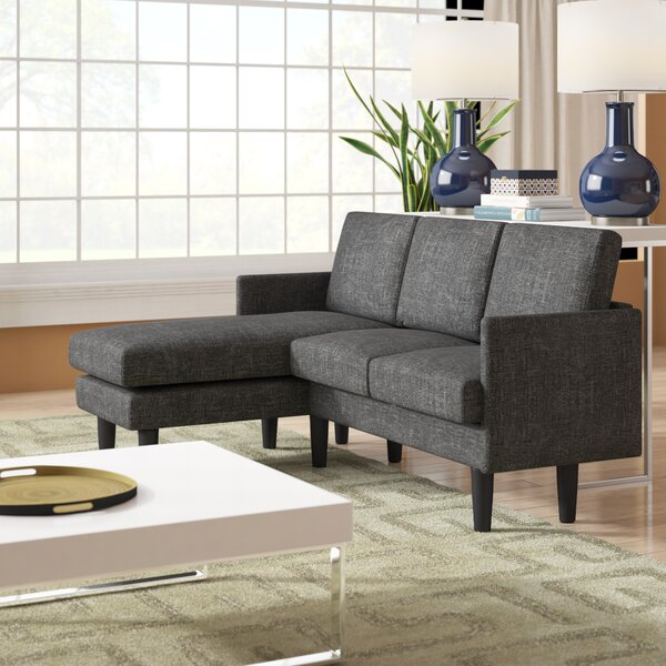 Best #1 Kanisha Reversible Sectional By Zipcode Design Great Reviews