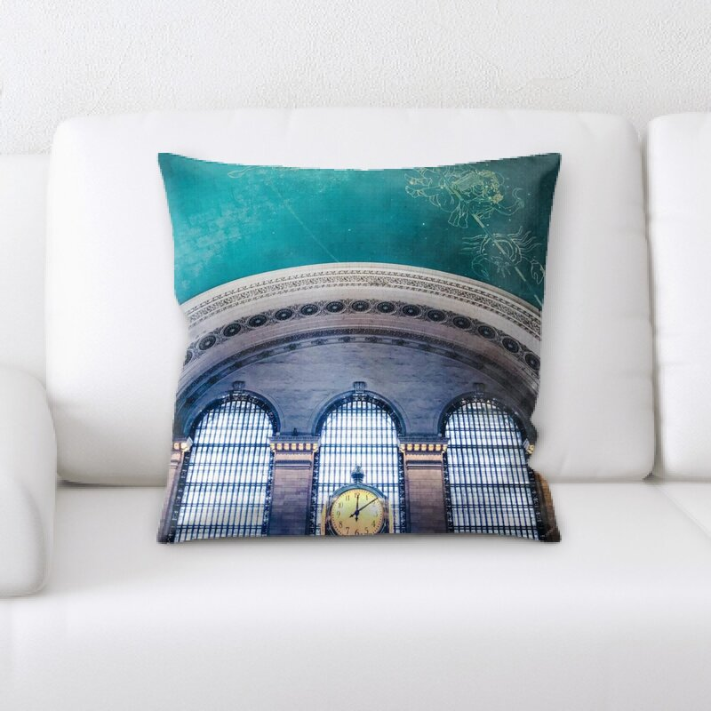 Rug TycoonTrain Experience 73 Throw Pillow