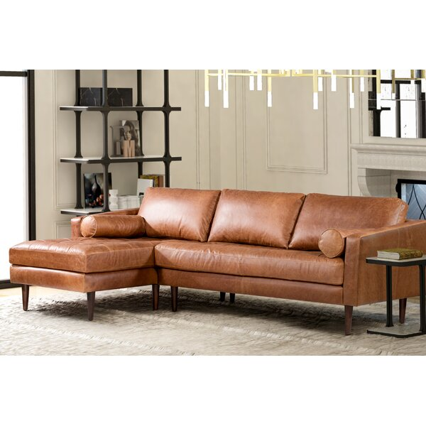 Kate Leather Sectional By Foundry Select Coupon