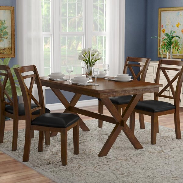 Bexley 5 Piece Dining Set by Alcott Hill Alcott Hill