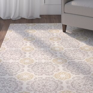 Ostrander Silver/Gold Newport Area Rug by Charlton Home