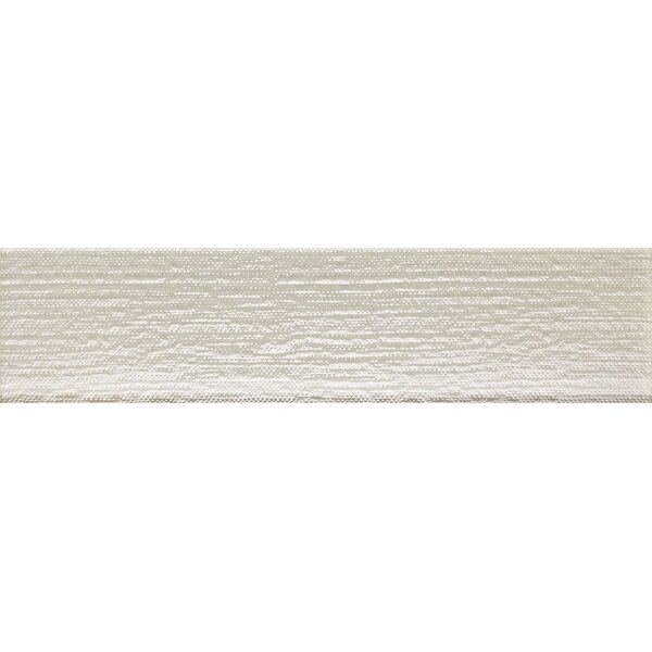 Driftwood 3 x 12 Glass Wood Tile in Canvas by Epoch Architectural Surfaces