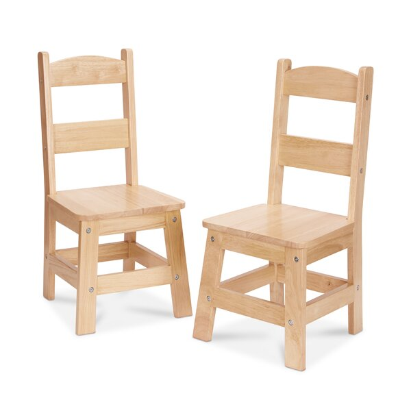 11 Solid Wood Classroom Chair (Set of 2) by Meliss