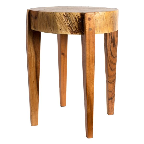 Benslimane Accent Stool by Bungalow Rose