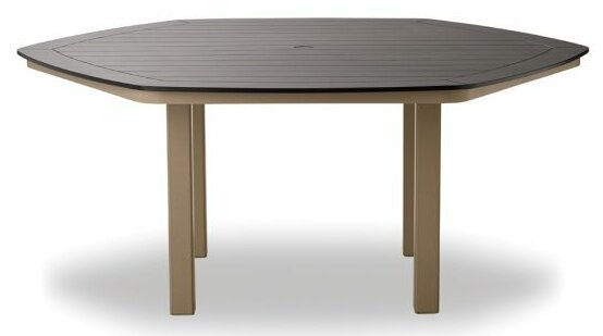 Marine Grade Polymer Hexagonal Bar Table by Telescope Casual