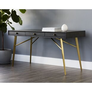 Read Reviews Irongate Desk by Sunpan Modern