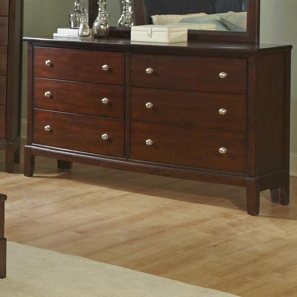 Denver 6 Drawer Double Dresser by Wildon Home ®