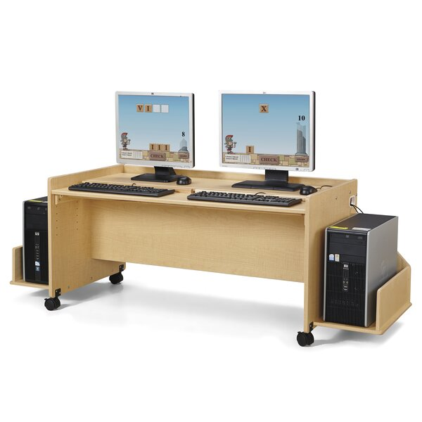 Rainbow Accents® Wood 24 Student Computer Desk by Jonti-Craft