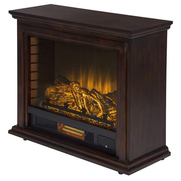 McGregor Mobile Electric Fireplace by Charlton Home Charlton Home
