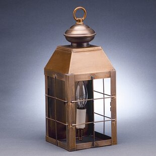Affordable Price Woodcliffe 1-Light Outdoor Flush Mount By Northeast Lantern