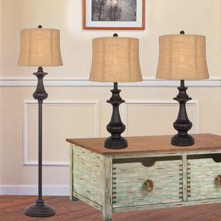 Find for Cathleen 3 Piece Table and Floor Lamp Set By Darby Home Co