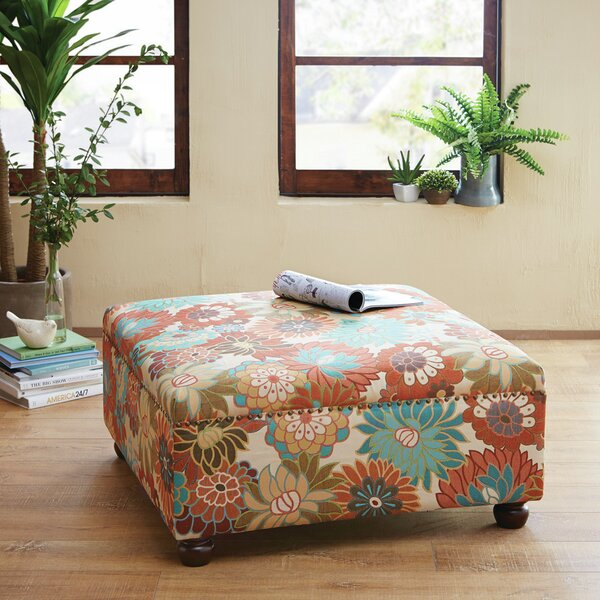 Floral Ottoman Coffee Table