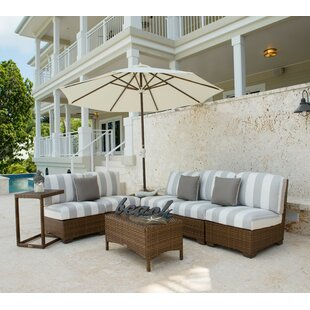Panama Jack 8 Piece Sectional Set with Cushions By Panama Jack Outdoor