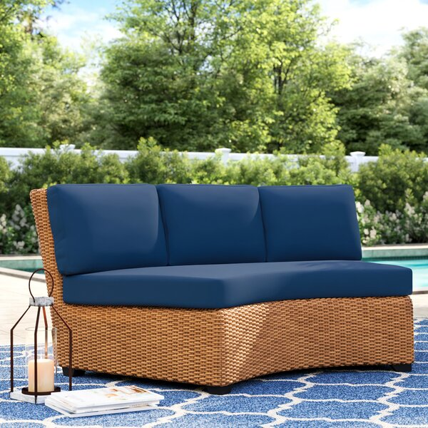 Waterbury Outdoor 8 Piece Curved Armless Cushion Set By Sol 72 Outdoor