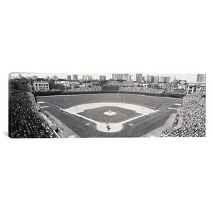 'Chicago, Illinois, Cubs Baseball' Photographic Print on Canvas by East Urban Home