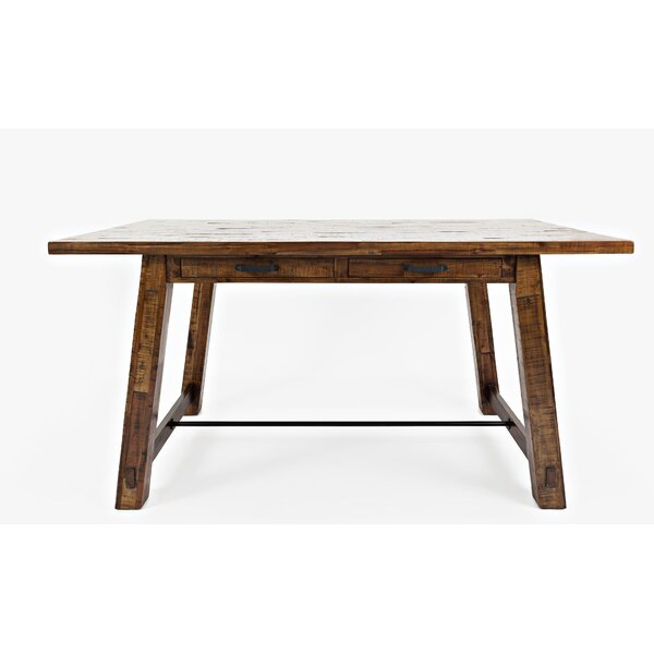 Concetta Trestle Counter Height Dining Table by Loon Peak