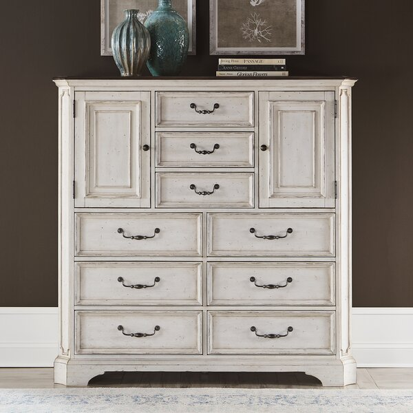 Almazan Dressing 9 Drawer Chest by Ophelia & Co.