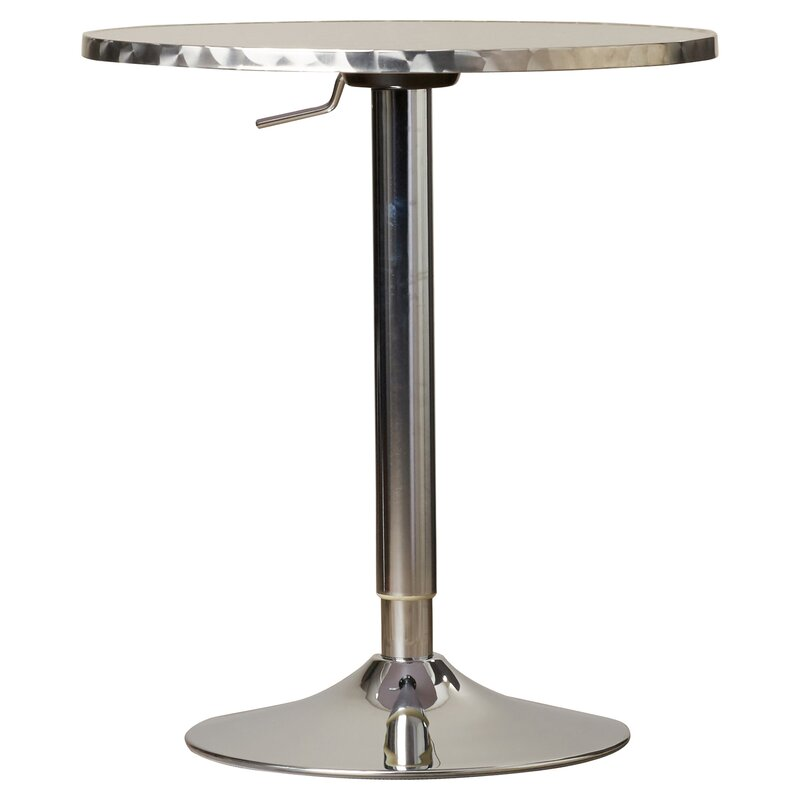 Adlai Adjustable Height Pub Table