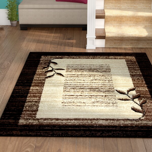 Wilda Black/Brown/Beige Area Rug by Winston Porter