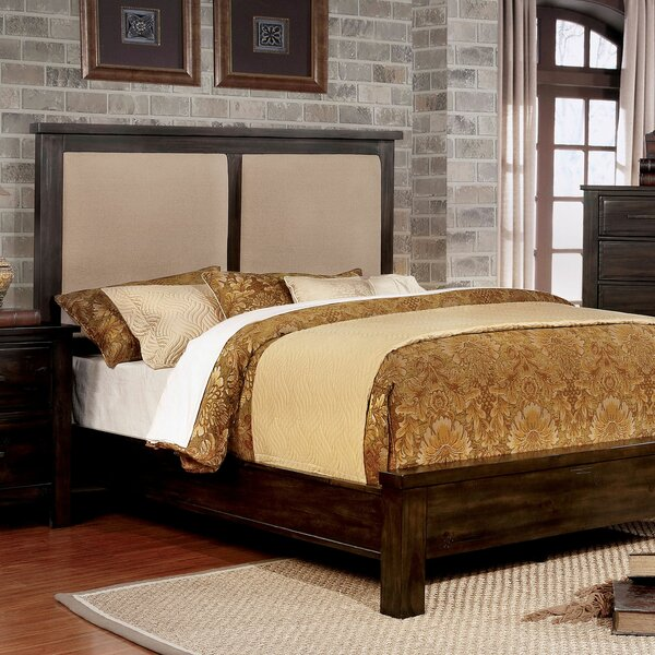 Reynolds Upholstered Standard Bed by Loon Peak