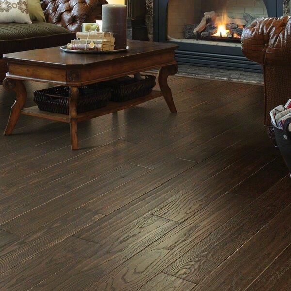 Chico 4 Solid Oak Hardwood Flooring in Gray by Shaw Floors