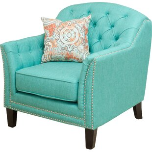 Tufted Teal Chair | Wayfair