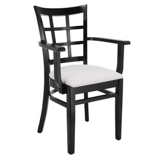 Harner Solid Wood Arm Chair