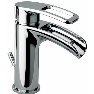 Delightful Bretton Trough Bathroom Faucet With Drain Assembly