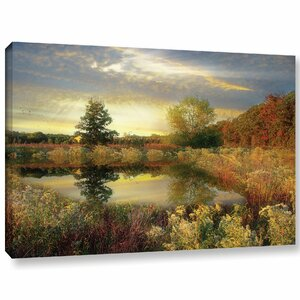 'Arrical Of Dawn'  Painting Print On Wrapped Canvas by Loon Peak