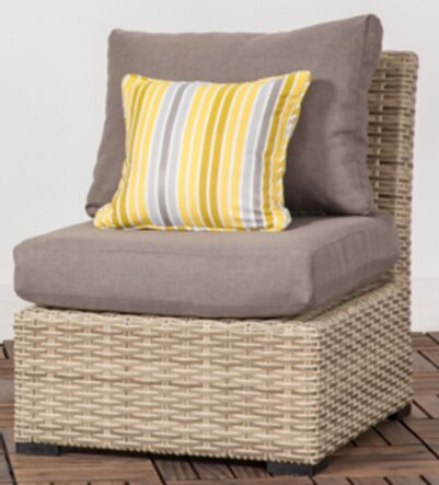 Crandall Patio Chair with Cushion by Rosecliff Heights