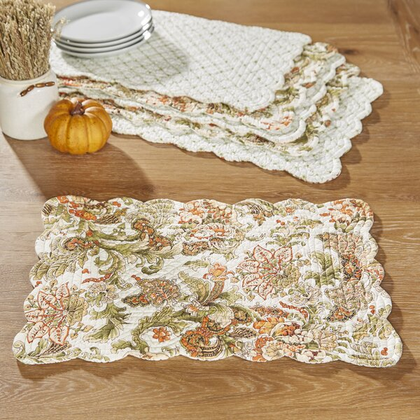 Tenby Reversible Placemats (Set of 6) by Birch Lane™