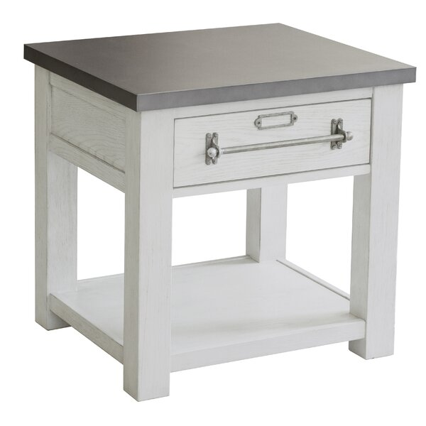 Pullen End Table with Storage by Williston Forge