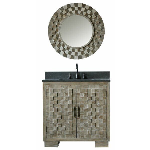 Claris 36 Single Bathroom Vanity Set with Mirror by Bungalow Rose
