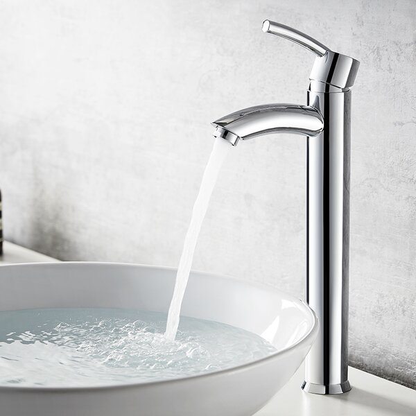 Jayne Single Hole Bathroom Faucet by Vinnova
