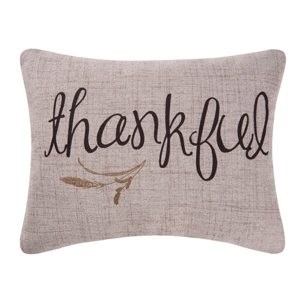 Thankful Lumbar Pillow by C&F Home