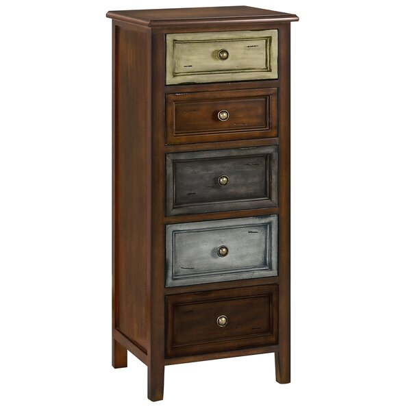 Weddle 5 Drawer Accent Chest