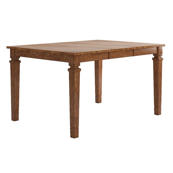 Terrones Solid Wood Dining Table by Charlton Home