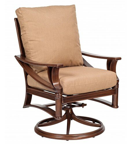 Arkadia Rocking Patio Dining Chair by Woodard