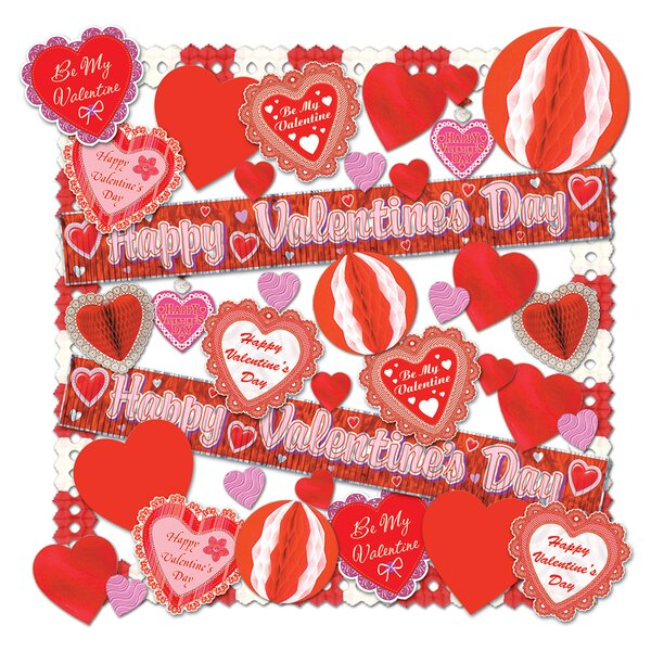 Furness Valentine Decorating Kit by The Holiday Aisle