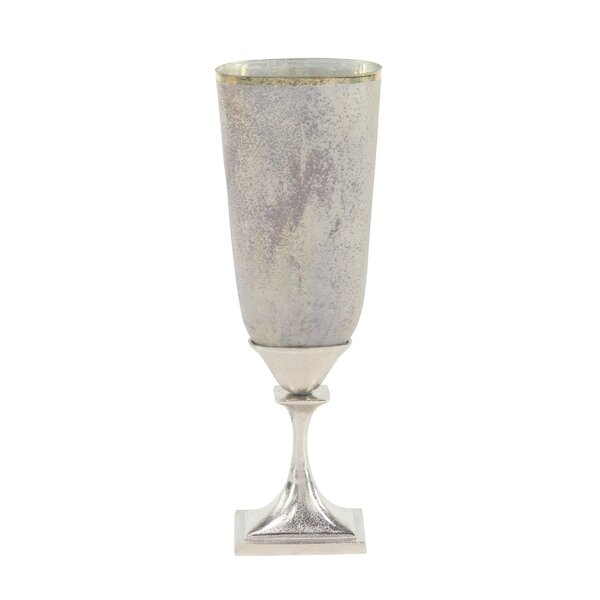 Leonore Contemporary Floor Vase by Charlton Home