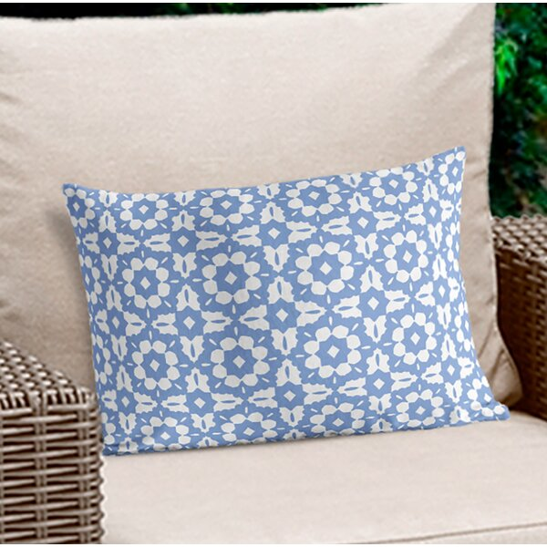 Alaca Geometric Lumbar Pillow