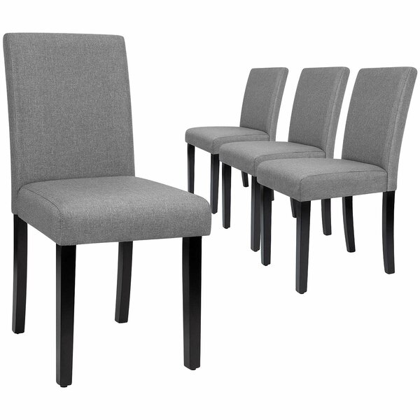 Fellsburg Upholstered Dining Chair (Set of 4) by Latitude Run Latitude Run