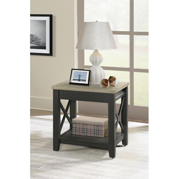 Cornelison End Table by Gracie Oaks