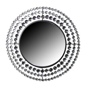 House of Hampton Kraatz Round Wall Mounted Accent Mirror