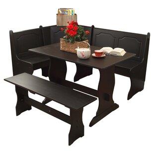 black kitchen & dining room sets you'll love | wayfair Black Dining Room Set