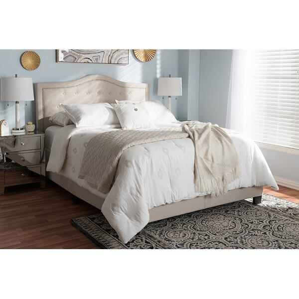 Abu Upholstered Standard Bed by Winston Porter