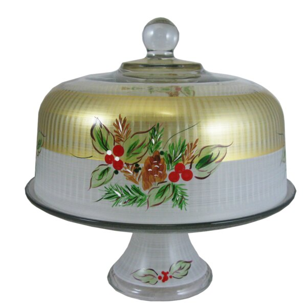 Ducharme Pine Dome Cake Stand by The Holiday Aisle